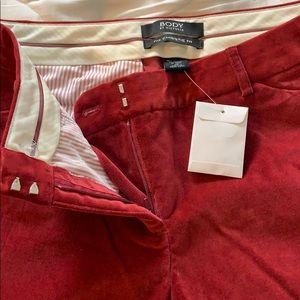 Vintage! Body by Victoria velvet dress pants